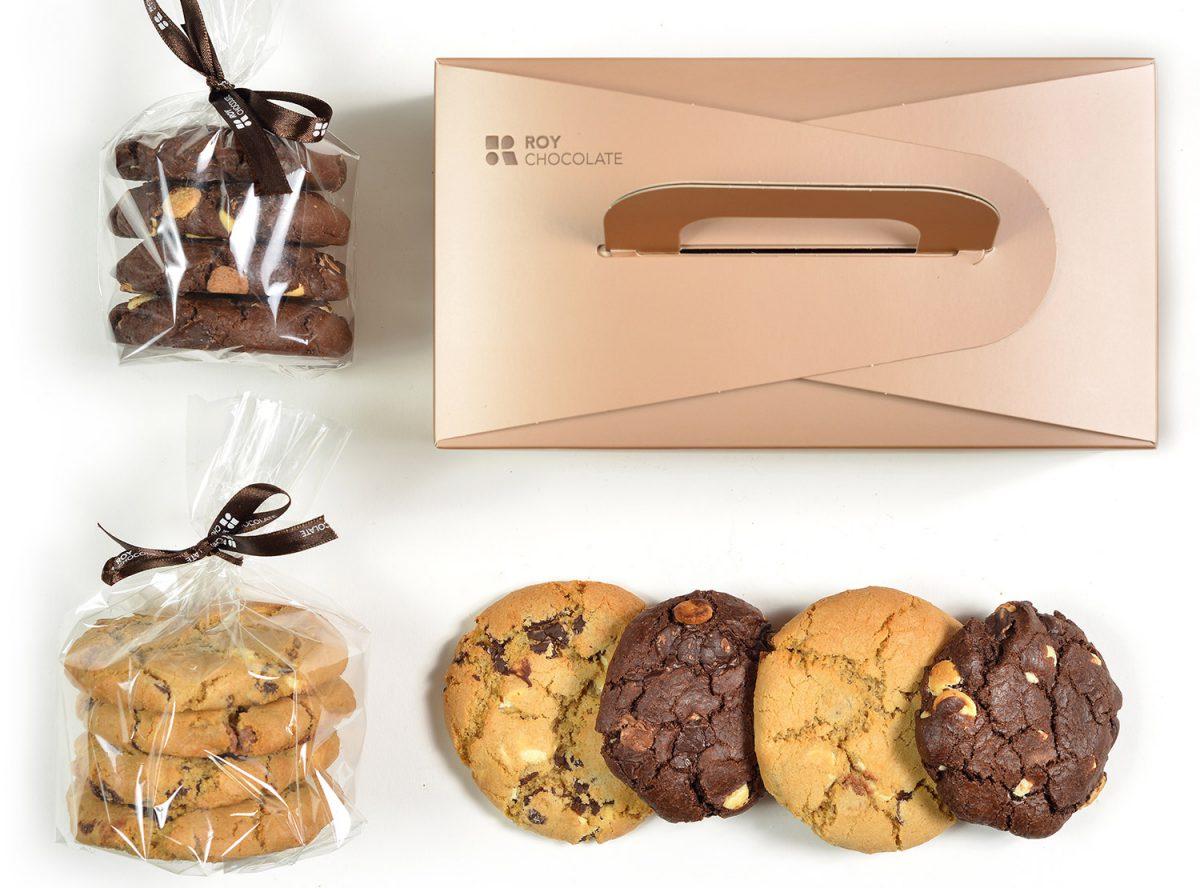 מארז מתנה עוגיות שוקולד ציפס