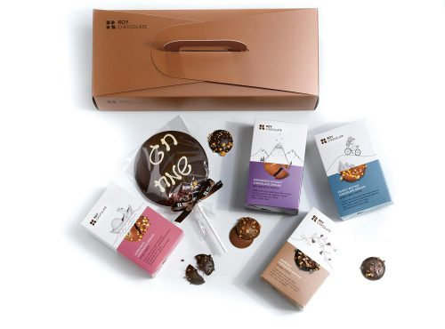 מארז שוקולד מזוודה חלומות ושוקולד על מקל
