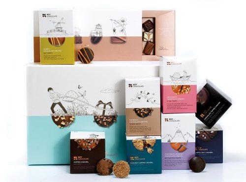 מארז שוקולד עם חלומות ופרלינים