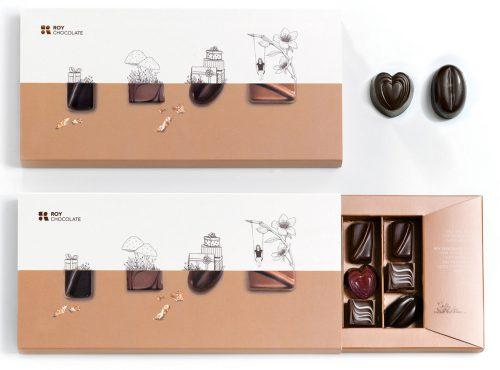 מארז 18 פרלינים משוקולד מריר מעולה