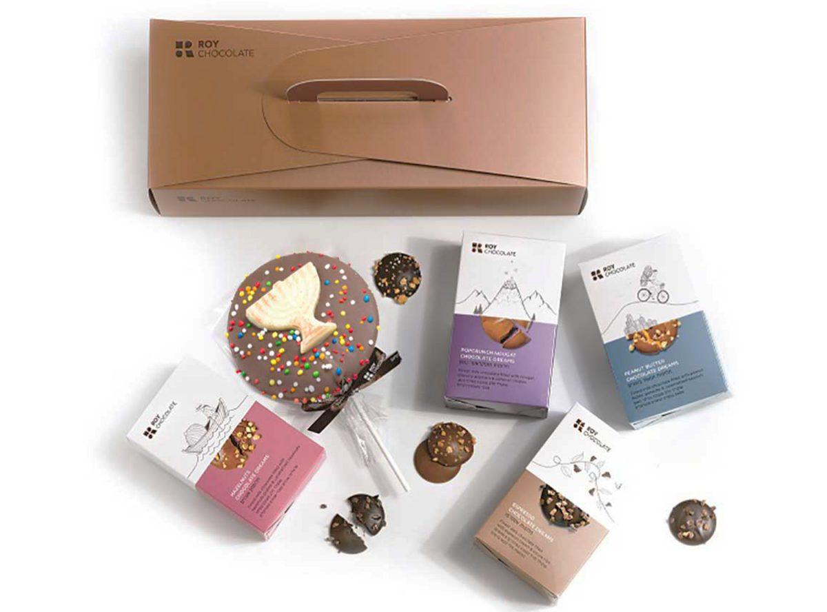 מארז שוקולד מזוודה לחנוכה