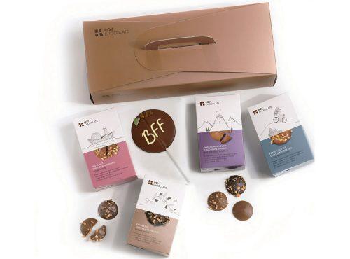 מארז שוקולד מזוודה לחברה הכי טובה