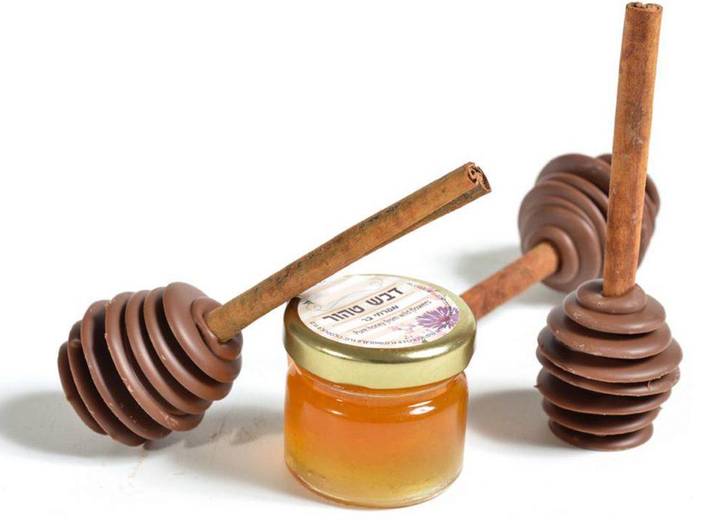 כפית דבש משוקולד