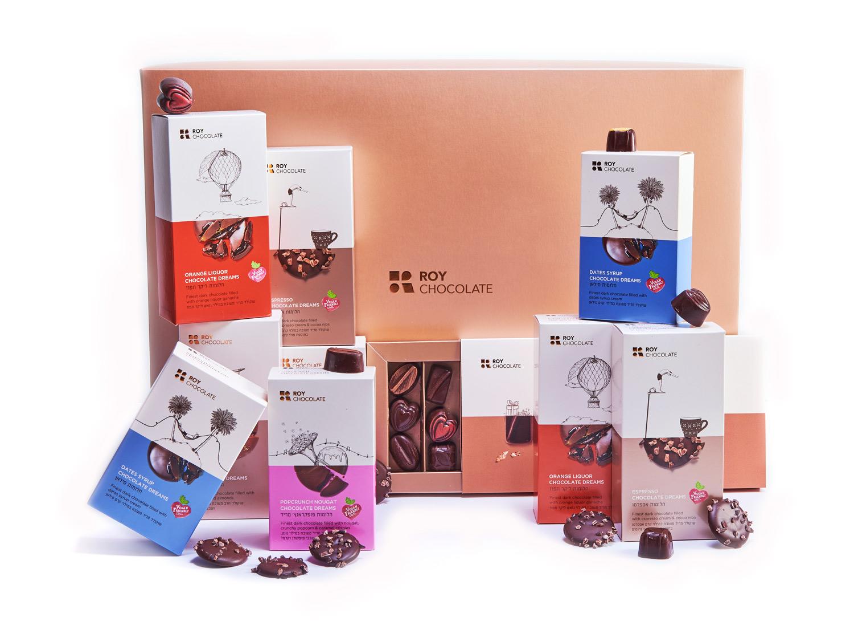 מארז שוקולד פרימיום דרים טבעוןני ללא סוכריה
