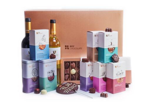 מארז שוקולד שנה טובה premium touch
